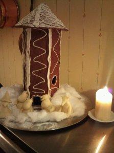 Muminhuset som pepparkakshus...